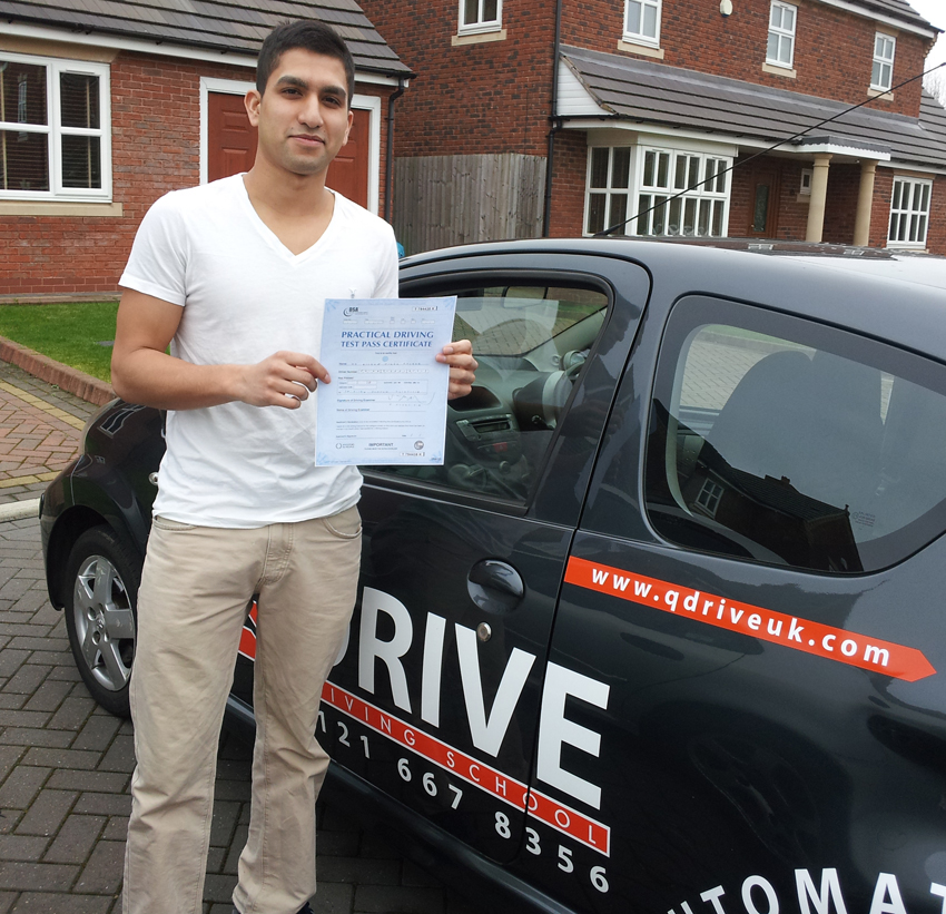 Automatic Driving lessons in Sutton Coldfield